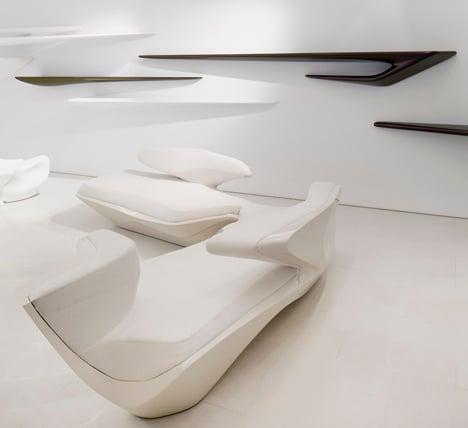 Zaha Hadid Design Gallery opens