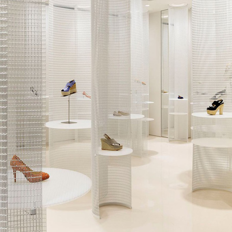 Lucca llena shoe store by R