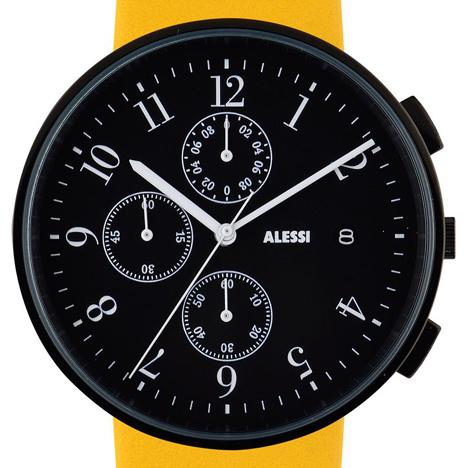 Record Chronograph by Achille Castiglioni for Alessi