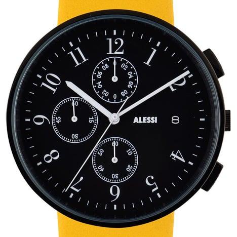 Record Chronograph by Achille Castiglioni for Alessi at Dezeen Watch Store