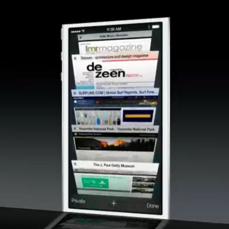 Dezeen featured in third Apple presentation