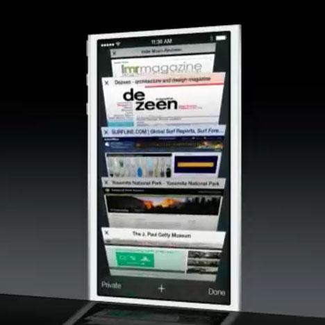 Dezeen features in three Apple presentations