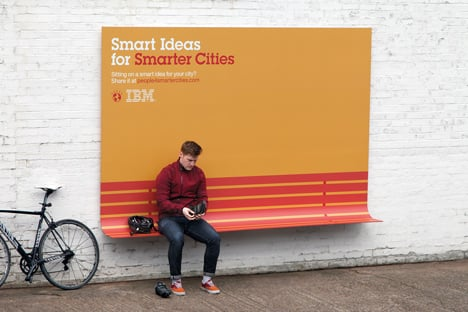 Ads with a New Purpose by Ogilvy & Mather for IBM