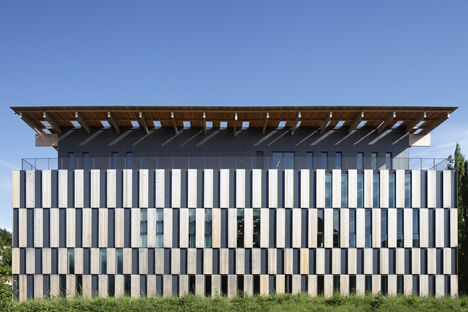 Besancon Art Centre and Cite de la Musique by Kengo Kuma and Associates