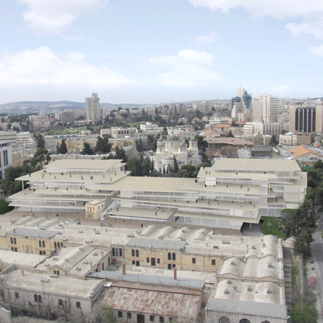 SANAA plans new campus for Bezalel Academy of Art and Design