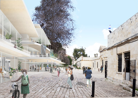 Bezalel Academy of Arts and Design by SANAA