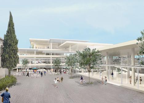 Bezalel New Campus by SANAA