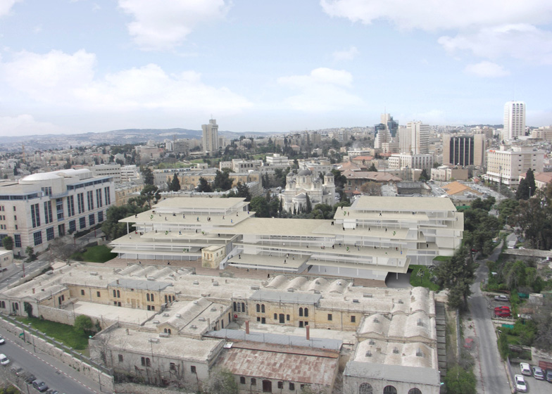 0506255035228 SANAA plans new campus for Bezalel Academy of Art and Design