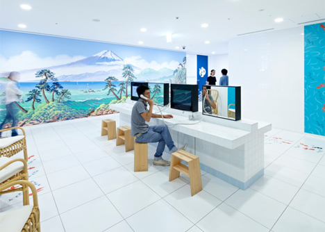 Google Japan by Klein Dytham Architecture