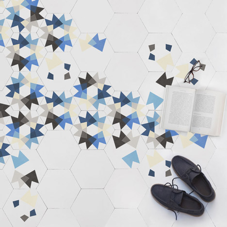 Keidos tiles by MUT for Entic designs