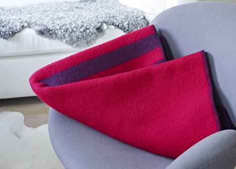 Blankets by Snøhetta for Røros Tweed