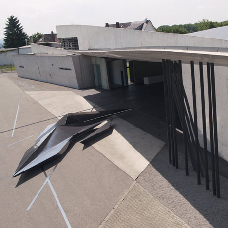 Prima installation by Zaha Hadid for Swarovski at Vitra Campus