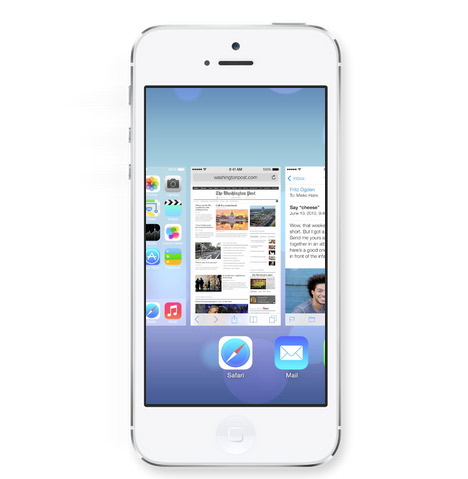 Apple unveils iOS 7 software designed by Jonathan Ive