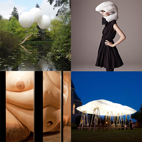Dezeen Archive: Inflatables