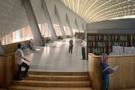 dezeen_Baghdad Library by AMBS Architects_5