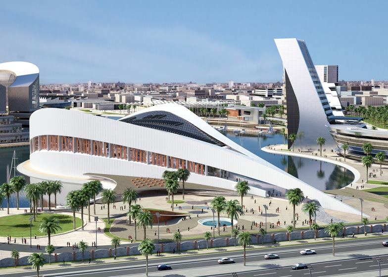 Designs unveiled for new public library in Iraq