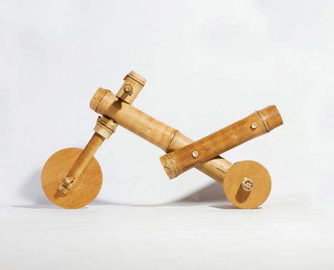 Bamboo tricycle by A21 studio