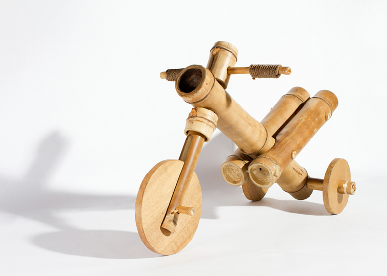 Bamboo tricycle by a21studio