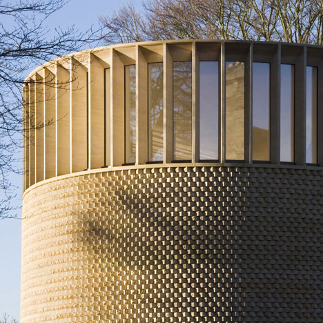 Bishop Edward King Chapel at Cuddesdon by Niall Maclaughlin