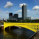 Fictional bridges on Euro banknotes constructed in the Netherlands