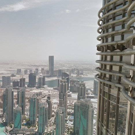 Google Street View captures inside the world's tallest skyscraper