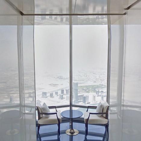 Burj Khalifa Google Street View