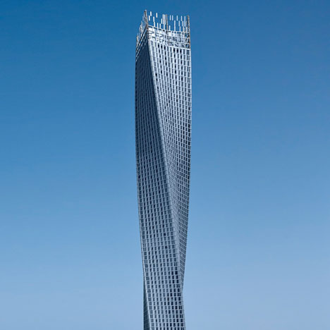 Cayan Tower by SOM