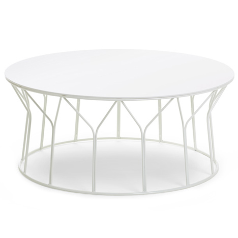 Circus tables by Formfjord for Offecct