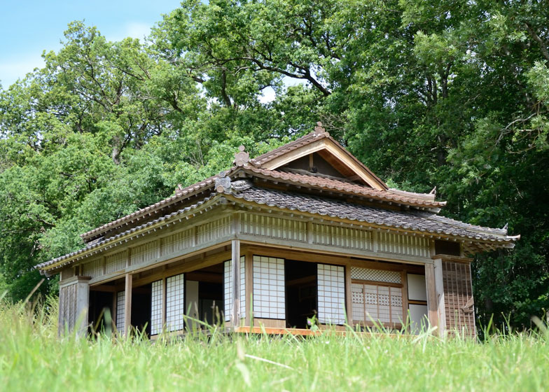 Japanese house at Domaine de Boisbuchet