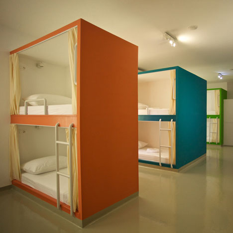 Hostel architecture and design Dezeen