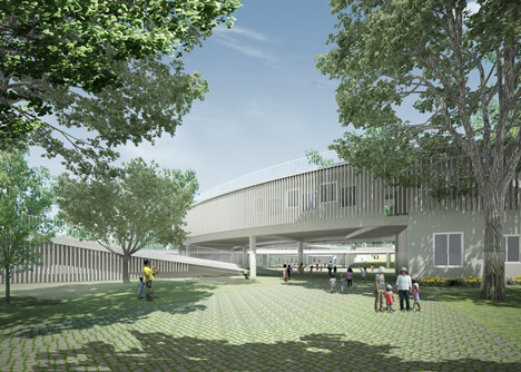 Farming Kindergarten by Vo Trong Nghia Architects