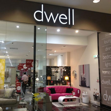 Furniture retailer Dwell caeses trading