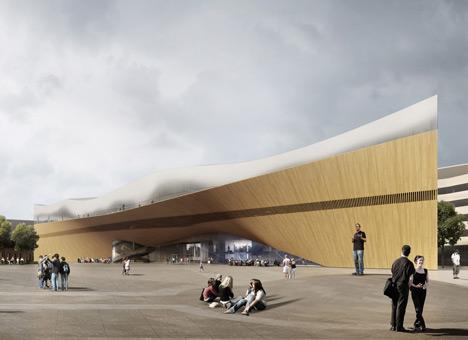 Helsinki Central Library by ALA Architects