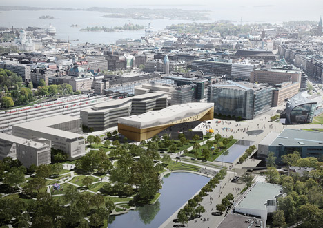 Helsinki Central Library by ALA Architects