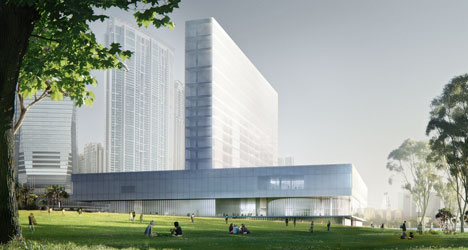 Herzog & de Meuron to design M+ museum in Hong Kong
