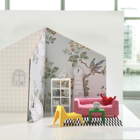 Dezeen_Ikea Launches Furniture For Dolls Houses_1