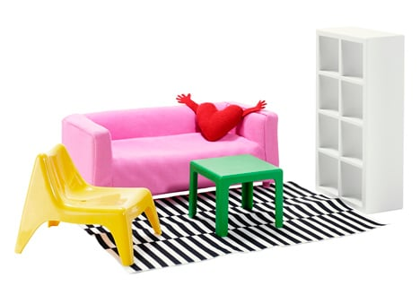 dezeen_Ikea launches furniture for dolls houses_3
