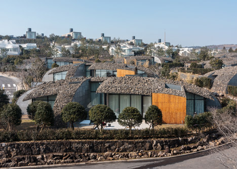 Jeju Ball by Kengo Kuma and Associates