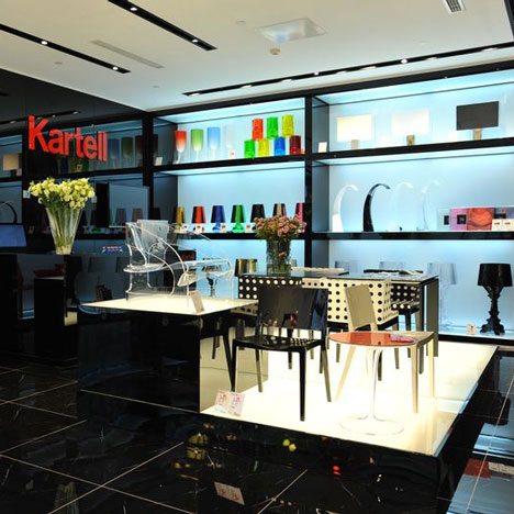 Kartell to open 50 stores in China over the next five years