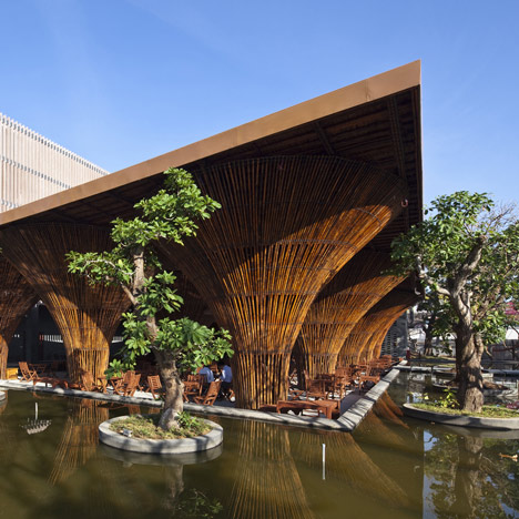 Kontum Indochine Cafe by<br /> Vo Trong Nghia Architects