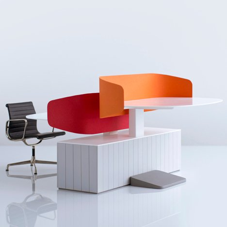 dezeen_Locale Office Furniture by Industrial Facility