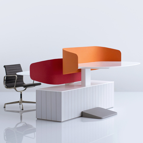 Locale Office Furniture by Industrial Facility for Herman Miller