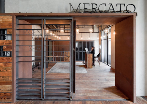 Mercato at Three on the Bund by Neri&Hu