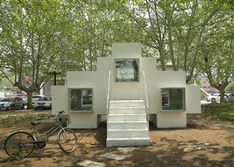 Micro House in Tsinghua by Studio Liu Lubin