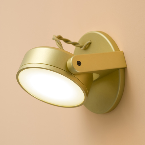 Monocle lamp by RBW
