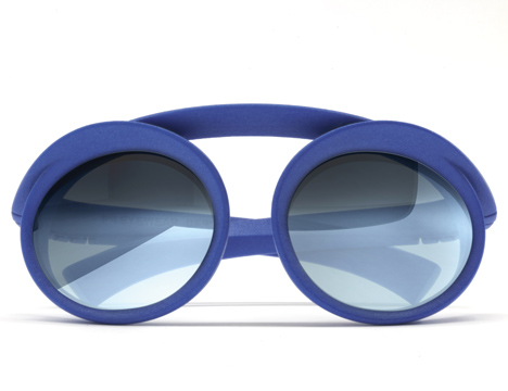 3D-printed glasses by Ron Arad for PQ Eyewear
