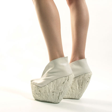 Porcelain Shoes by Laura Papp