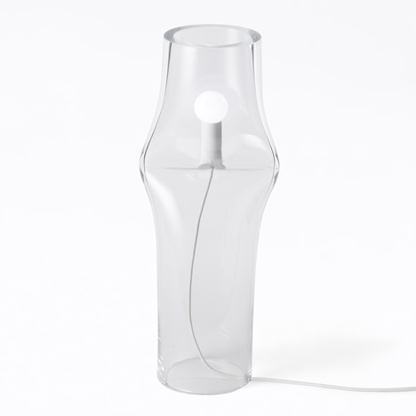 Press Lamp by Nendo