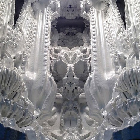 Prototype unveiled for worlds first 3D-printed room