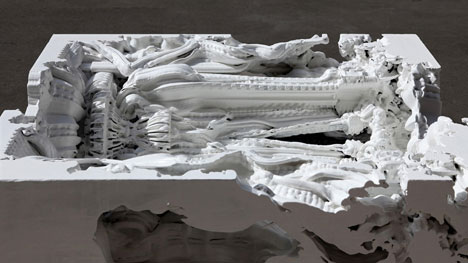 Prototype unveiled for world's first 3D-printed room
